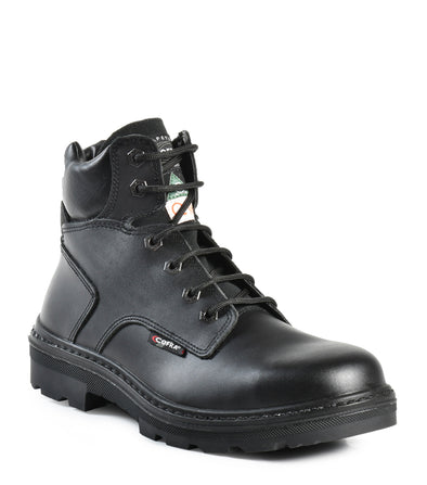 "Leader, Black | 6"" Work Boots - Cofra"