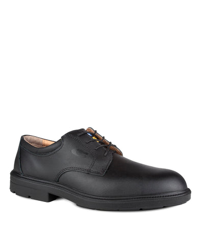 Coulomb, Black | LeatherCasual Work Shoes | CSA SD - Cofra
