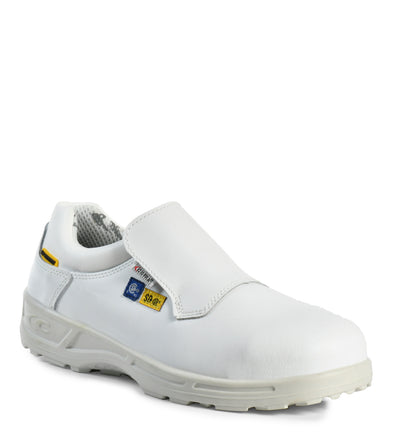 Akron SD+, White | Agrifood Lether Safety Work shoes | CSA SD+