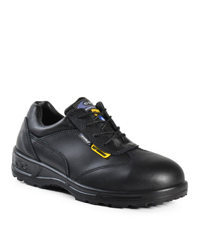 Ingrid SD+, Black | Woman Leather Safety Work Shoes | CSA SD+