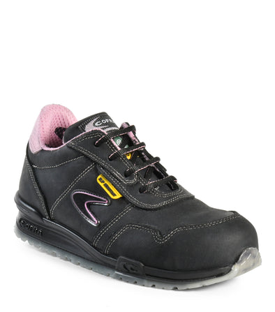 Alice SD+, Blue | Woman SD+ Nubuck Safety Work shoes | anti-slip - Cofra