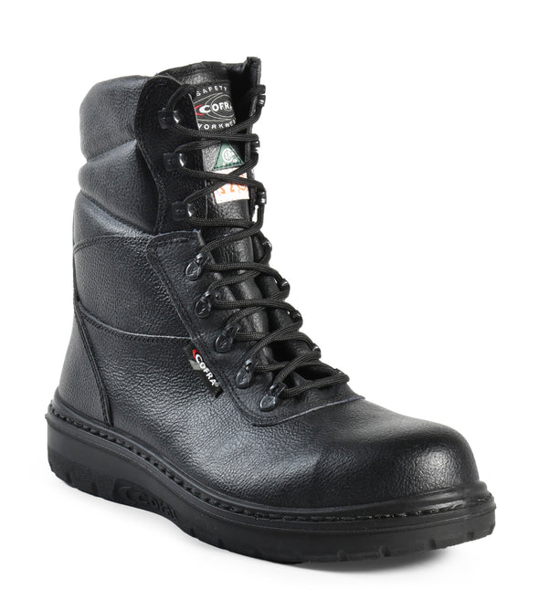 Road, Black | 8'' Asphalt safety work boots | Heat Defender outsole