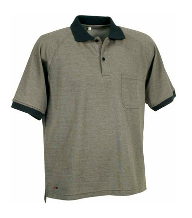 Martinique, Clay Brown | Short Sleev polo | Quick Drying