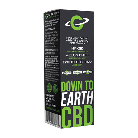 Gravity CBD Box Back