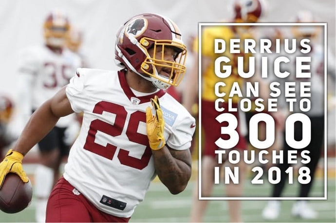 Derrius Guice Can See Close To 300 Touches In 2018