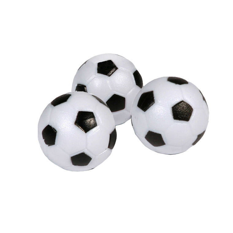 Hathaway Soccer Ball Style Foosballs - 3-pack - Recreation.Deals