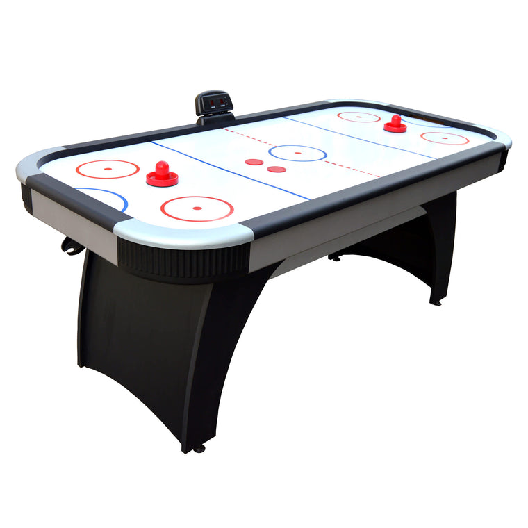 Hathaway Silverstreak 5-Foot Air Hockey Game Table with Electronic Scoring