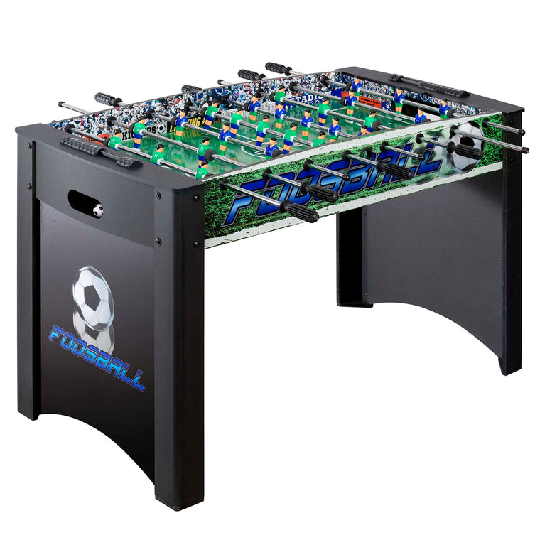 Playoff 4-Foot Foosball Table, Soccer Game with Ergonomic Handles