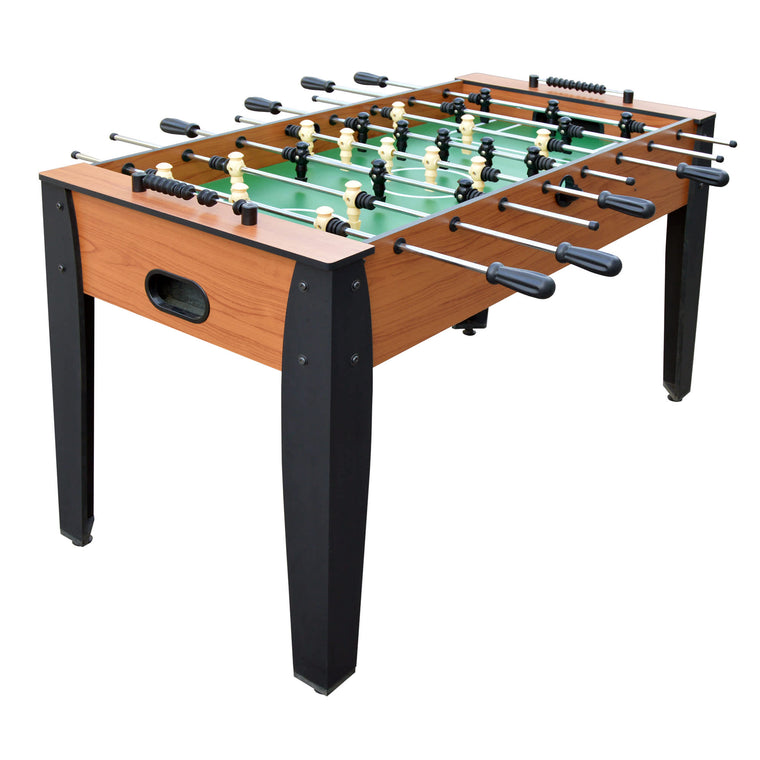 Hathaway Hurricane 54-Inch Foosball Table - Light Cherry Finish