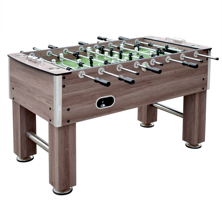 Hathaway Driftwood 56-in Foosball Table