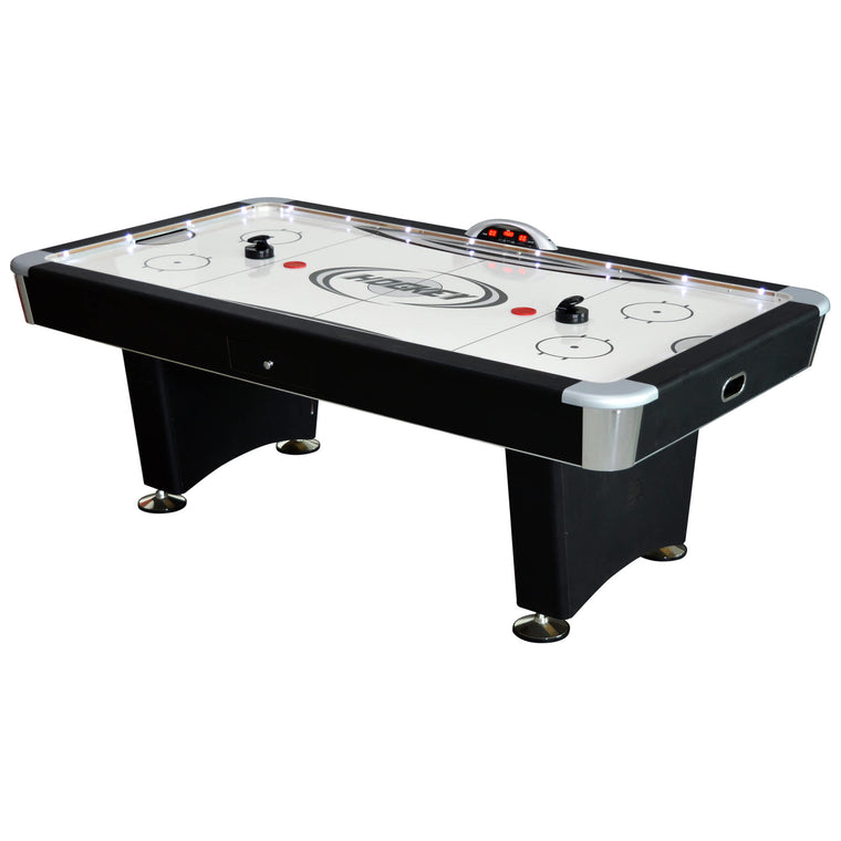 Hathaway Stratosphere 7.5-ft Air Hockey Table w/ Docking Station