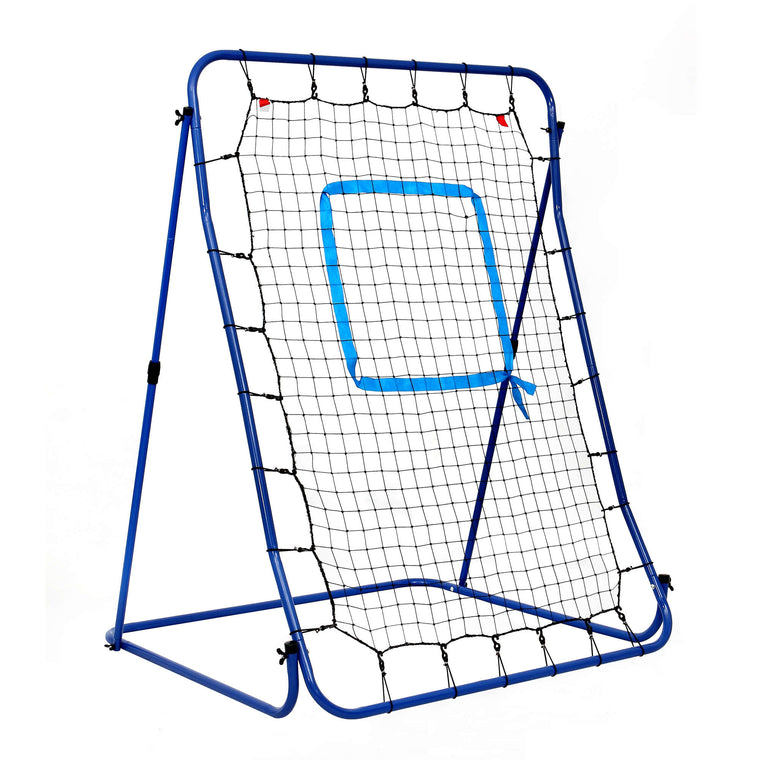 Hathaway Carom Baseball Pitching Rebound Net for Practice with Bag
