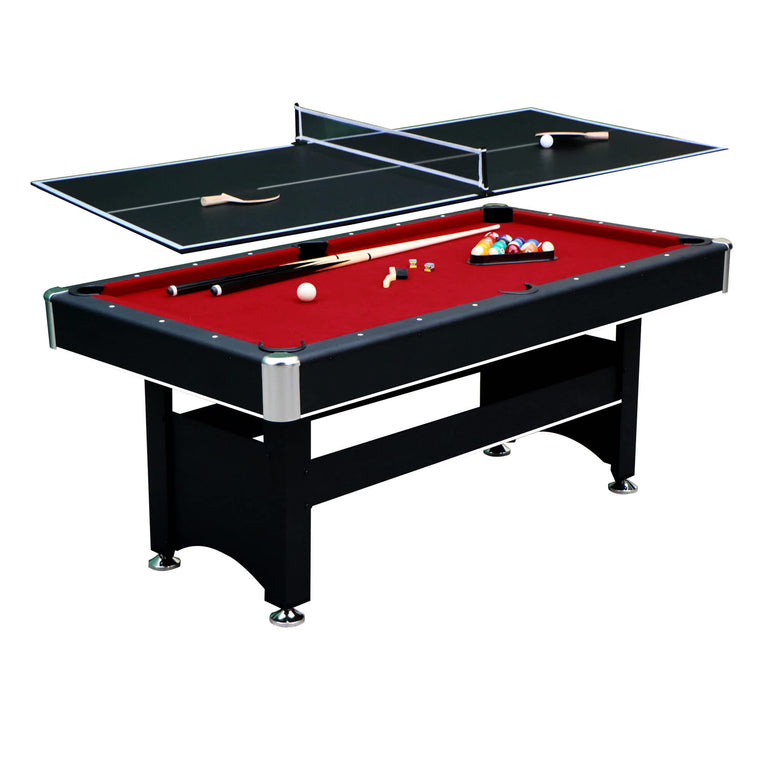 Hathaway Spartan 6-ft Pool Table - Black