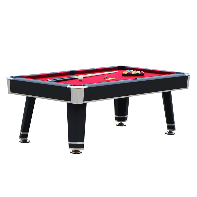 Hathaway Jupiter 7-ft Pool Table - Black