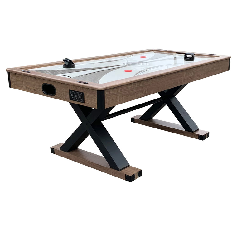 Hathaway Excalibur 6-ft Air Hockey Table with Table Tennis Top