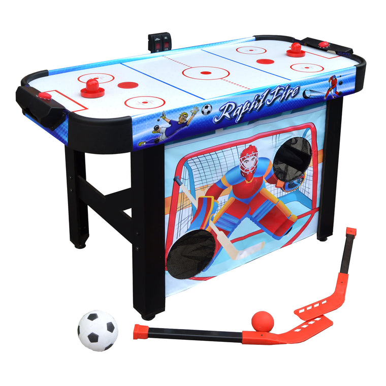 Carmelli Rapid Fire 42-in 3-in-1 Air Hockey Multi-Game Table