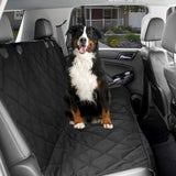Dog Car Seat Cover Waterproof Universal Size - Black