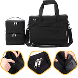 KOPEKS Dog Accessories Travel Bag - Black