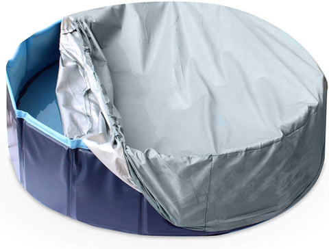 Pool Cover For Outdoor Pet Pool Size - Large 120