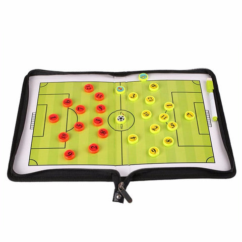 Foldable Football Soccer Coaching Tactics Board