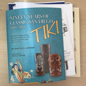 Good News – My Tiki Book is Printed!