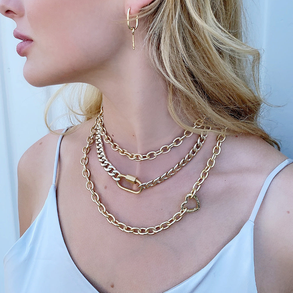 Chain Link Necklace Collection