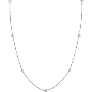 CZ By The Yard Necklace - CZ42