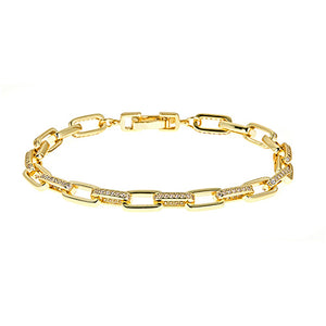 Rectangular Linkr Bracelet - CZB16