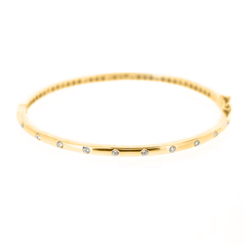 Cz Spaced Bracelet - CZB19