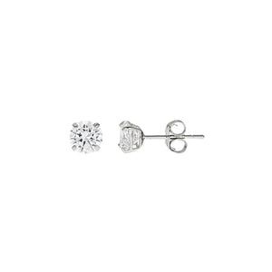 14k Gold CZ Studs .50 Carats Total Weight -  CZE14K0