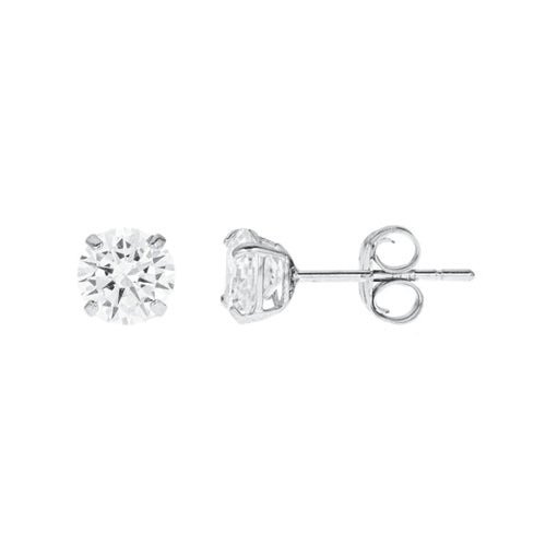 14k Gold CZ Studs  1.50 Carats Total Weight -  CZE14K5