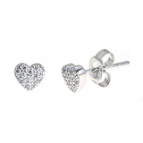 Heart Earrings - CZE521