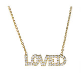 Loved Necklace - CZP3