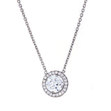 Halo Necklace - CZP40