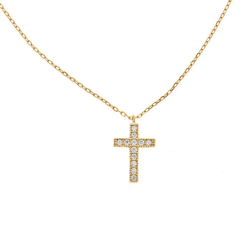 Cross Necklace - CZP73