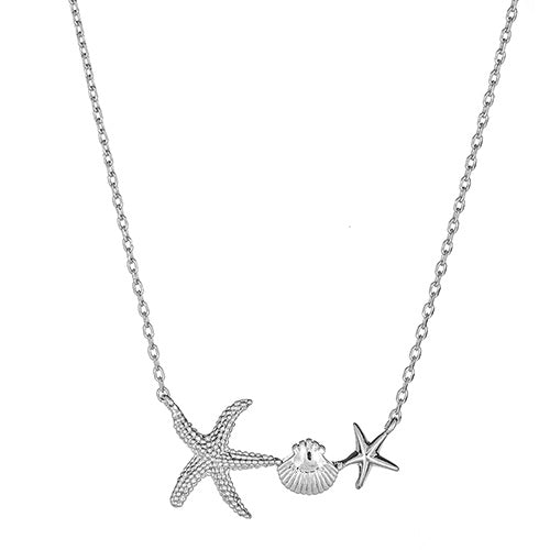 Starfish & Shell Necklace