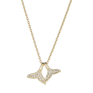 Whale Tails Necklace
