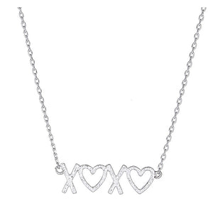 X Heart X Heart Necklace