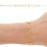 BRAVE Empowered Bracelet - yellow EB12Y