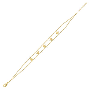 5 STAR SYMBOLS  Empowered Bracelet - yellow EB19Y