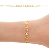 FEARLESS Empowered Bracelet - yellow EB5Y