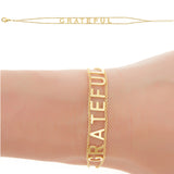 GRATEFUL Empowered Bracelet - yellow EB8Y