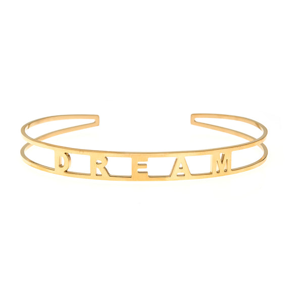 Dream Cuff Bracelet - ECB2 Yellow