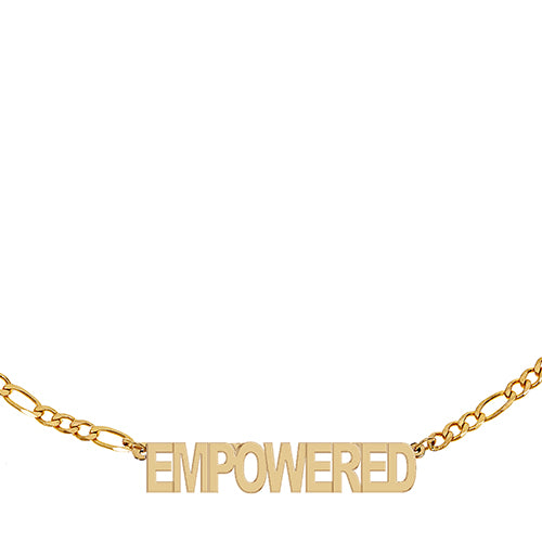 Figaro Empowered Necklace - EPFIG22