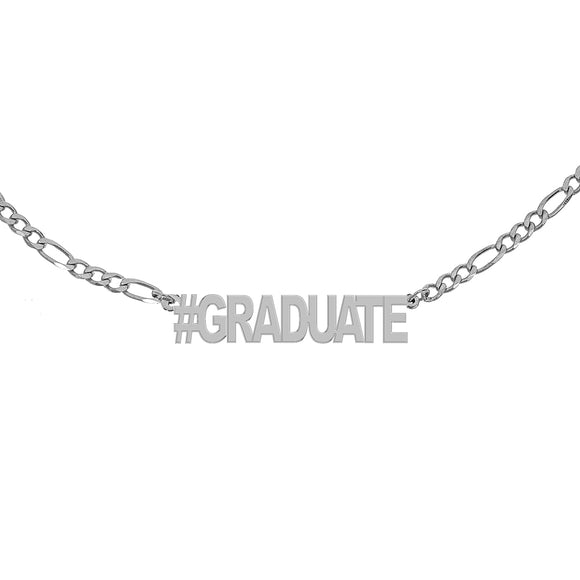 #GRADUATE Figaro Necklace - White
