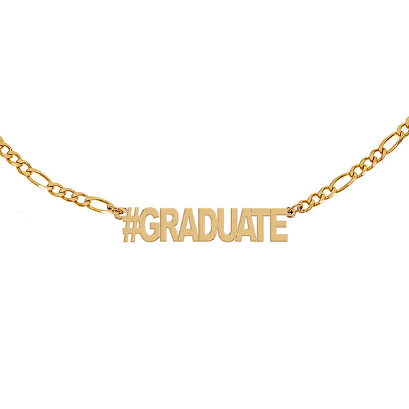 #GRADUATE Figaro Necklace - Yellow