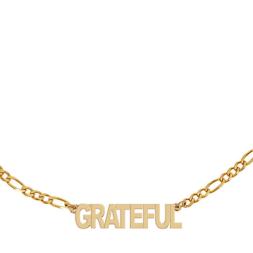 Figaro Grateful Necklace -  EPFIG8