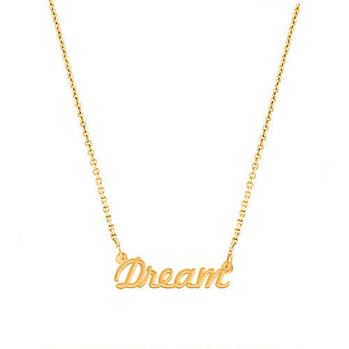 Dream Script Necklace - EPSC2
