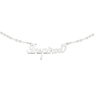 Inspired Script Necklace - EPSC23