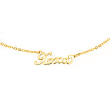 XOXO Script Necklace - EPSC6